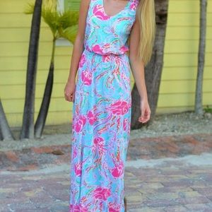 ORIGINAL Lilly Pulitzer Jellies Be Jammin maxi